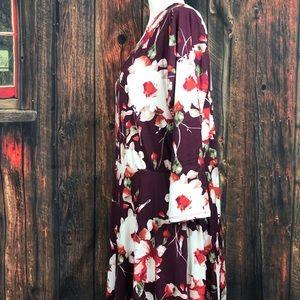 Agnes & Dora Dresses - Agnes and Dora Floral Midi Dress with Pockets XXL